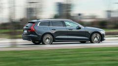In prova con la Volvo V60 ibrida plug-in