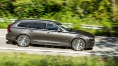 In prova con la Volvo V90 T6 Recharge Plug-in Hybrid AWD Inscription