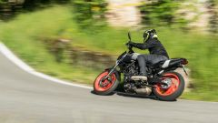 In prova con la Yamaha MT-07 2020
