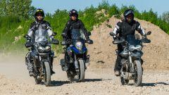 In prova con Moto Guzzi V85 TT, Triumph Tiger 800 XRT e Suzuki V-Strom 1000 XT
