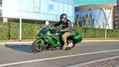 In sella alla Kawasaki Z1000SX Tourer 2019
