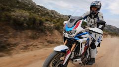 In sella alla nuova Africa Twin Adventure Sports 2020