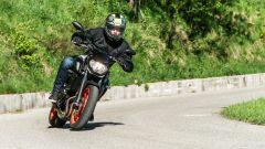 In sella alla Yamaha MT-07 2020