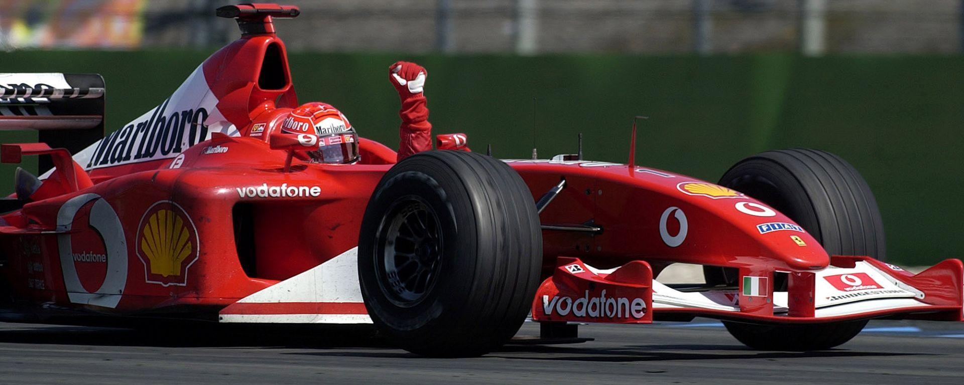 In vendita la Ferrari con cui Schumacher vinse il mondiale