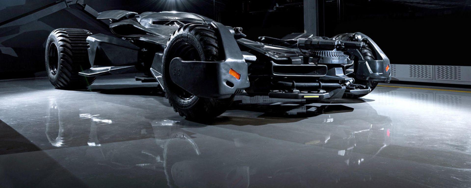 In vendita la replica della Batmobile di Batman v Superman
