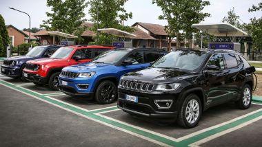 Incentivi Jeep 2021: la gamma che beneficia degli incentivi