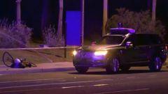 Incidente mortale veicolo autonomo, la scena dell'accaduto