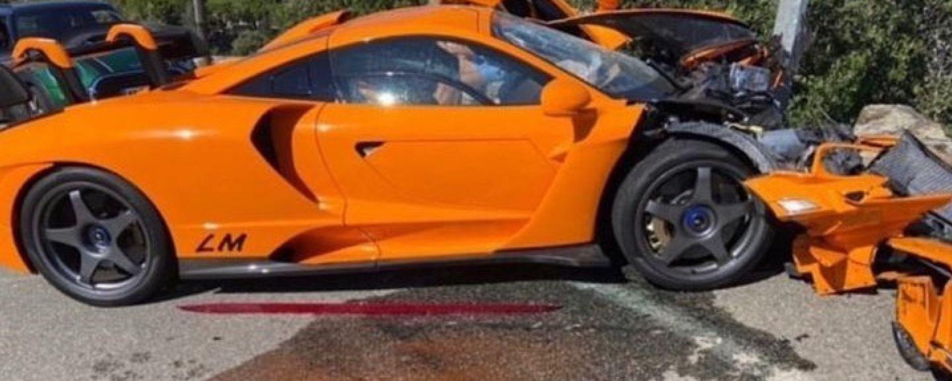 Incidente per l'ex pilota di Formula 1 Adrian Sutil