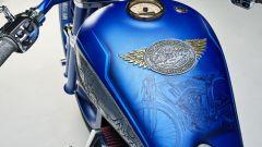 """Indian Chief """"Top Mountain"""", la livrea realizzata ad hoc mostra alcune delle moto del museo"""