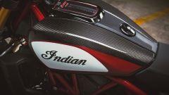 Indian FTR 1200 Carbon: il serbatoio