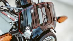 Indian FTR 1200 Rally 2020: il parabrezza