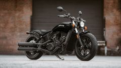 Indian Scout Bobber Sixty, foto 3/4 anteriore