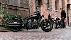 Indian Scout Bobber Sixty: statica ambientata