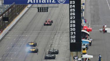 Indianapolis: la partenza del GP Stati Uniti 2005