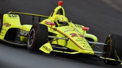 Indy500, Simon Pagenaud in qualifica