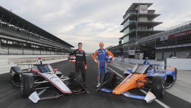 IndyCar 2019, Indianapolis: Will Power e Scott Dixon presentano l'Aeroscreen