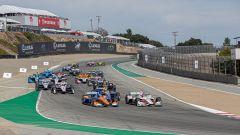 IndyCar 2019, Laguna Seca: la partenza della gara