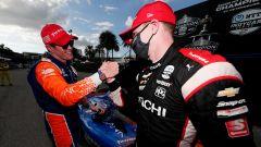 IndyCar 2020, St. Petersburg: Scott Dixon (Chip Ganassi Racing) e Josef Newgarden (Team Penske)