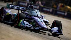 IndyCar 2021, Detroit: Romain Grosjean (Dale Coyne Racing) in pista