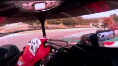 Laguna Seca vista dal casco di Grosjean