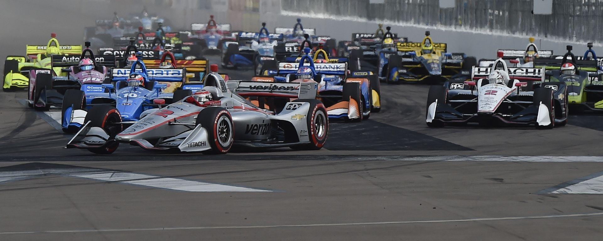 Indycar a St Petersburg