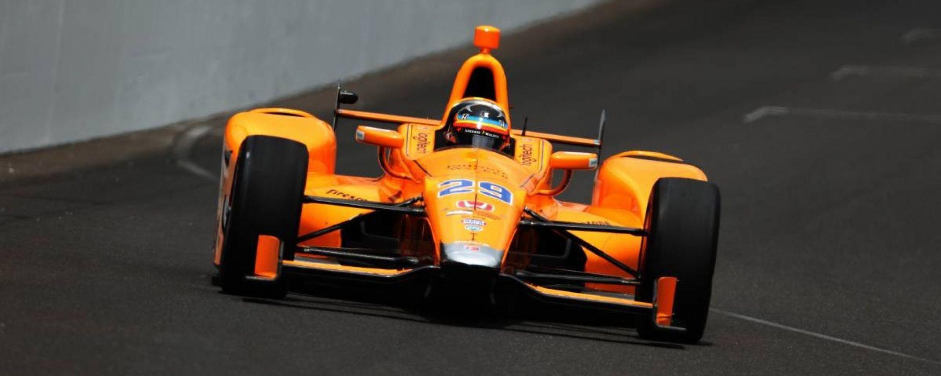 Alonso ci riprova: farà la 500 miglia di Indianapolis 2019 con McLaren