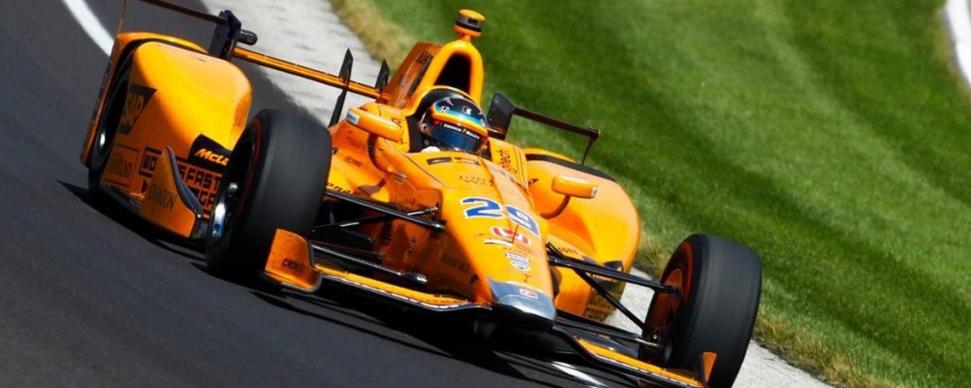 IndyCar, Alonso correrà con i motori Chevrolet alla 500 miglia