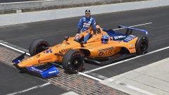 Indycar, Fernando Alonso prima delle qualifiche della Indy500 2019