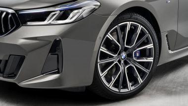 Inediti i cerchi della nuova BMW Serie 6 GT 2020