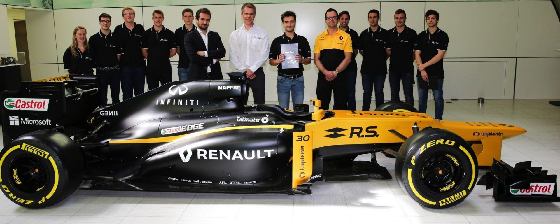 Infiniti Engineering Academy: proclamato il vincitore europeo