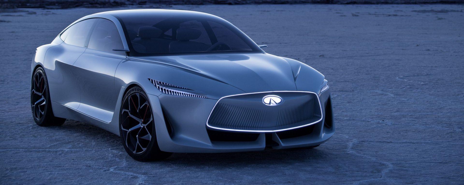 Infiniti Q Inspiration: guida autonoma e il nuovo motore VC Turbo