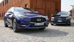 Infiniti Q30 e Mercedes Classe A sono nate sulla stessa piattaforma