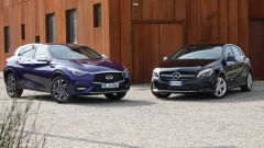 Infiniti Q30 vs Mercedes Classe A: compatte premium a confronto