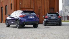 Infiniti Q30 vs Mercedes Classe A: gemelle diverse - Immagine: 11