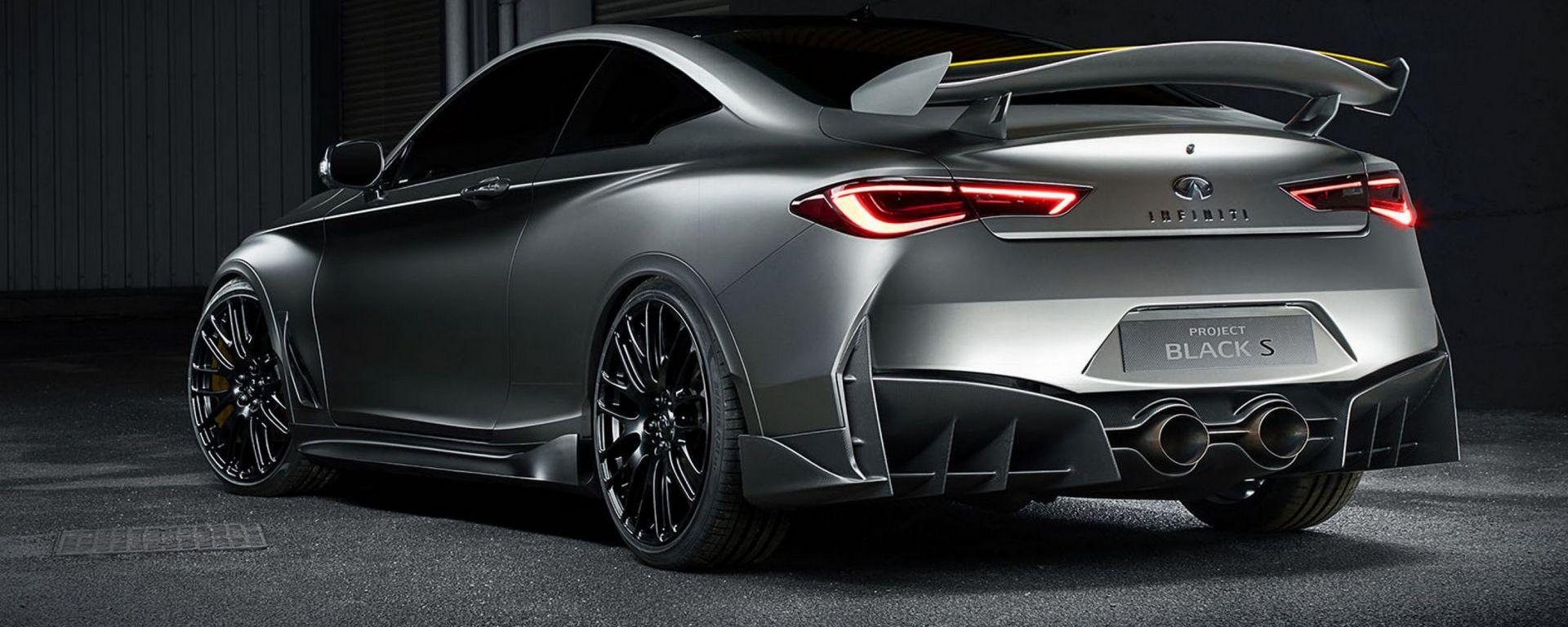 Infiniti Q60 Project Black S Concept: al Salone di Ginevra 2017 la versione più cattiva della coupé giapponese