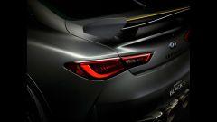 Infiniti Q60 Project Black S Concept: il particolare del posteriore