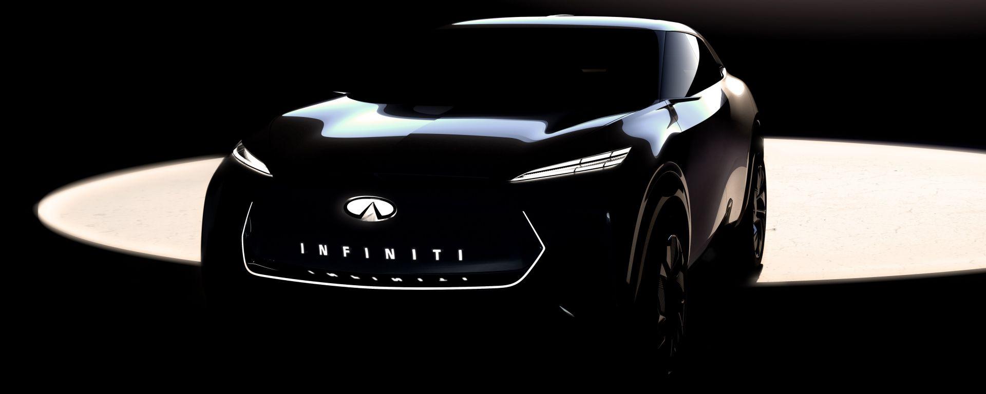 Infiniti: una crossover elettrica al Salone di Detroit 2019