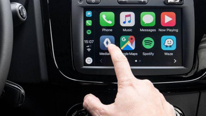 Infotainment al passo coi tempi per la nuova Dacia Sandero Stepway