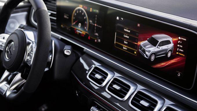 Interni di Mercedes AMG GLS 63