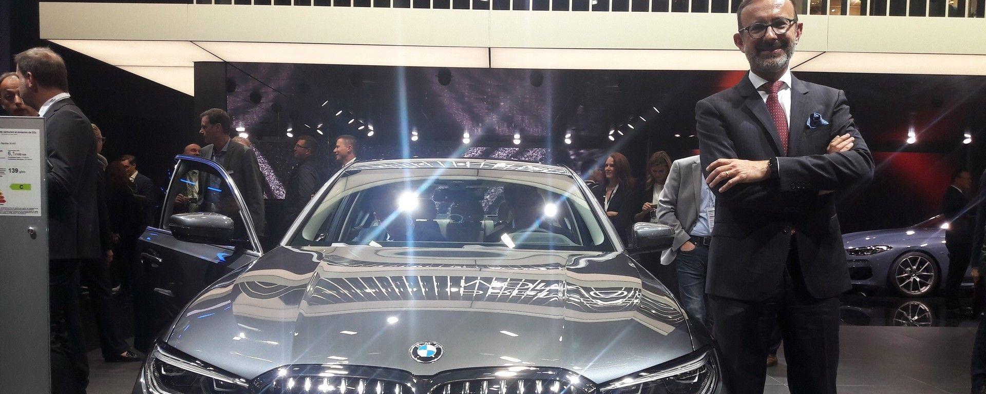 Novità BMW a Parigi 2018: intervista a Sergio Solero