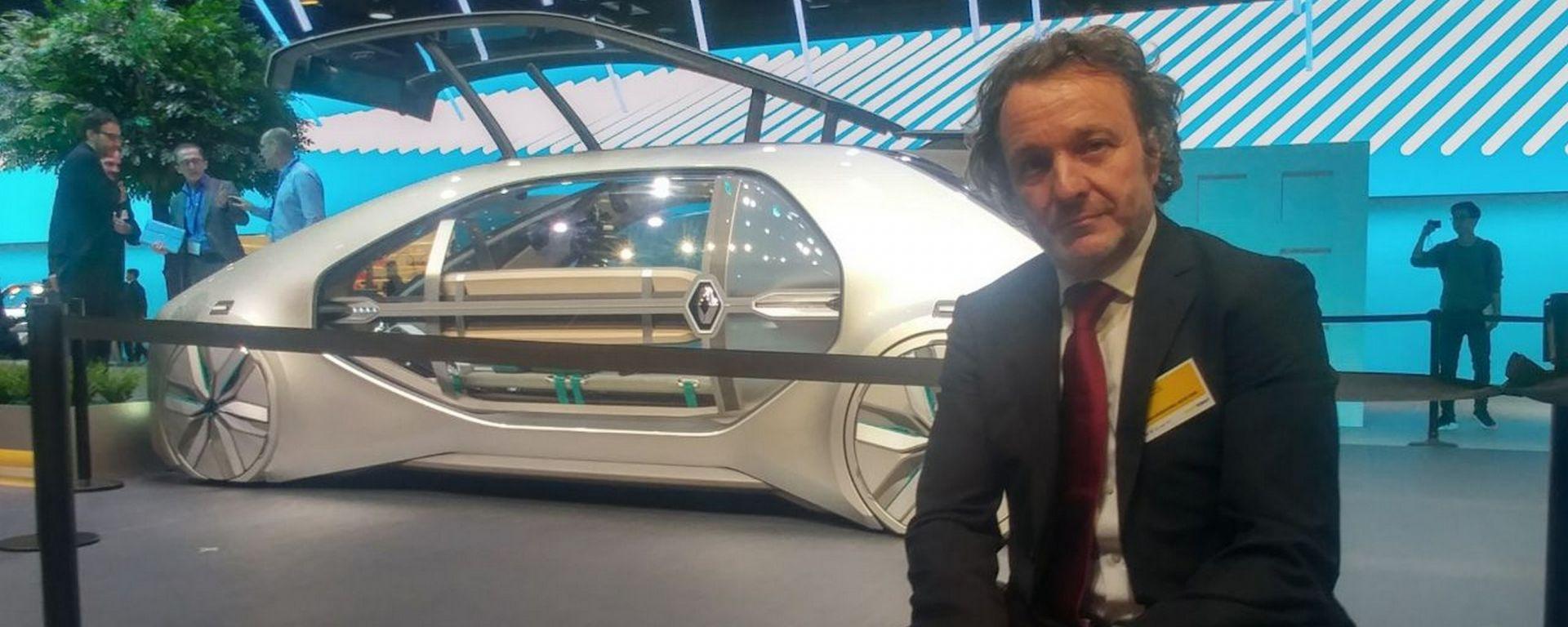 Renault: in scena EZ-GO, il robotaxi a guida autonoma