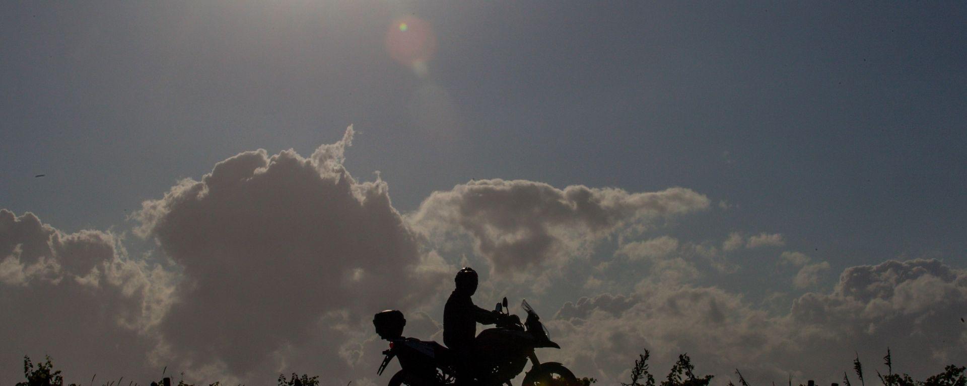 Io viaggio in moto perché...