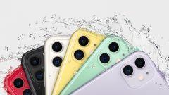 iPhone 11, maggiore resistenza all'acqua