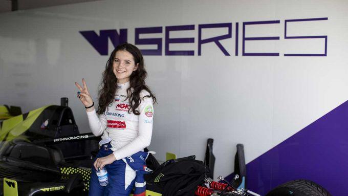 Irina Sidorkova, W Series test a Almeria, 2019
