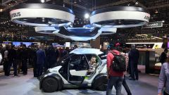 Italdesign Airbus Pop Up: la concept a guida autonoma col mega drone