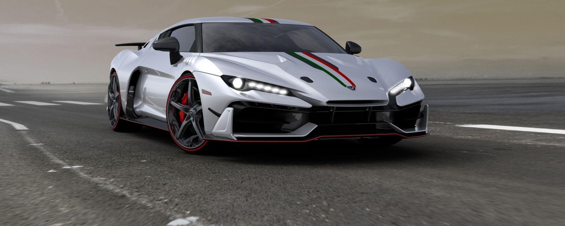 Italdesign Automobili Speciali: la supercar che verrà presentata al salone di Ginevra 2017