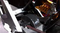 Italian Volt Lacama: dettaglio del compattissimo motore, che è in presa diretta