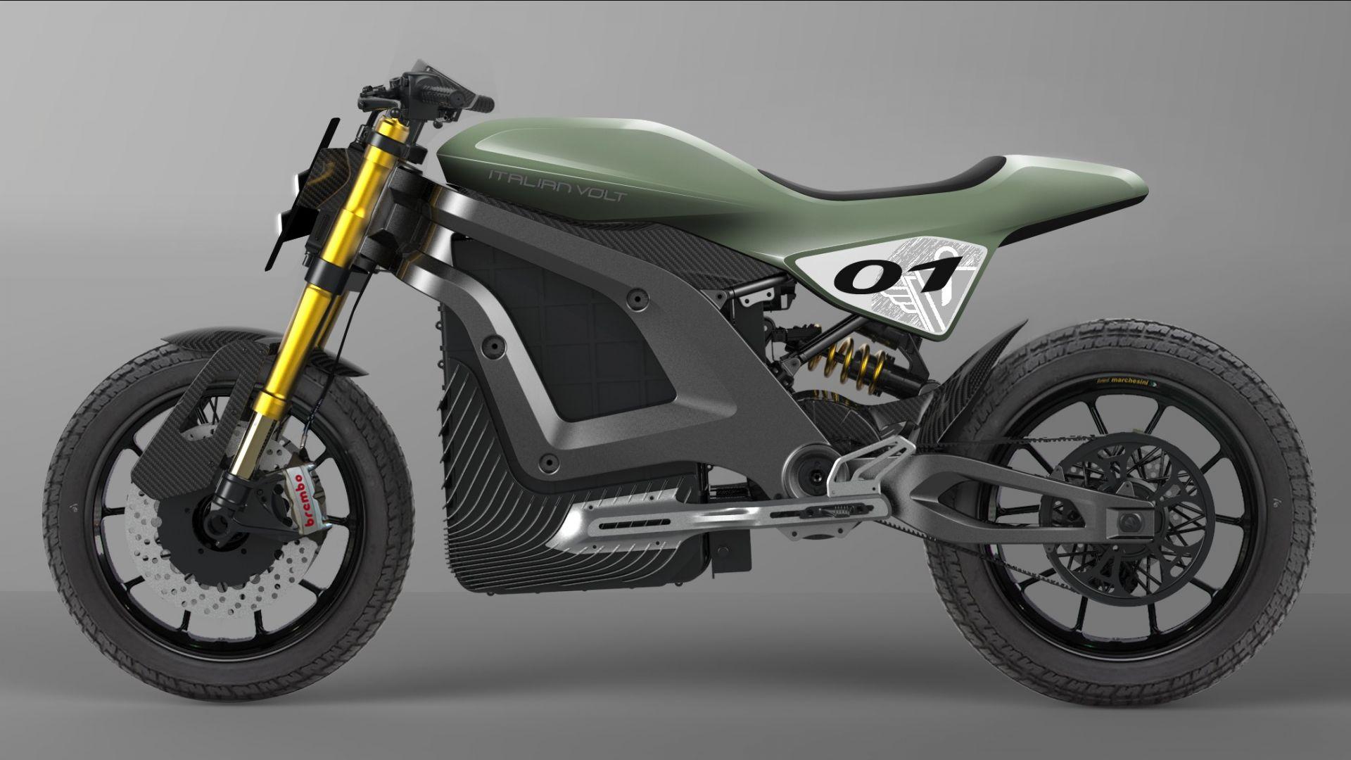 moto elettriche  italian volt lacama  la moto elettrica