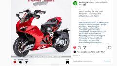 Italjet Dragster come la Ducati Panigale, il render (impossibile) - Immagine: 1