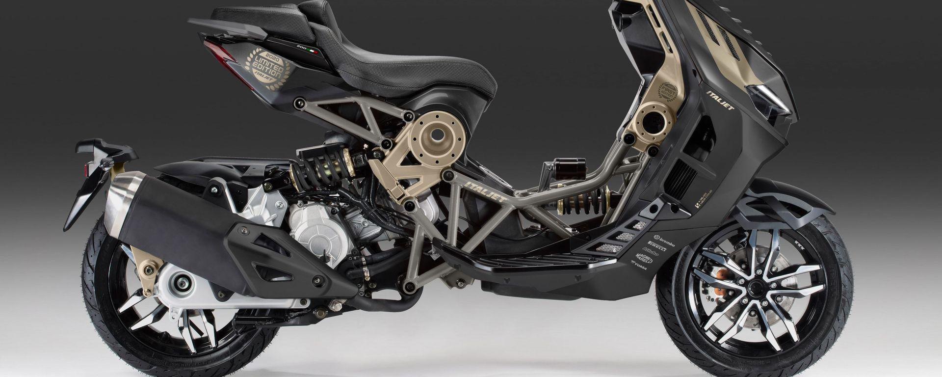 Italjet Dragster Limited Edition, livrea Black Magnesium